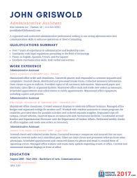 Administrative Assistant Resume Templates Unique 594 Best Resume