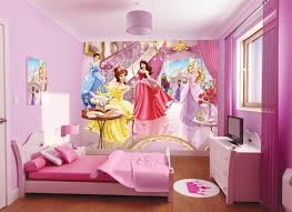 Kids Bedroom Paint Kids Bedroom Cute Girl Badroom With Princes Theme Feature Pink
