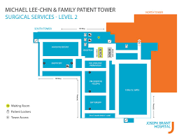 Maps Joseph Brant Hospital