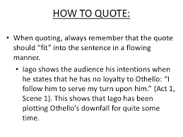 essays on othello  essays on othello iago and character manipulation