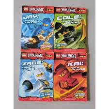 Lego Ninjago Books (4 books), Hobbies & Toys, Books & Magazines, Children's  Books on Carousell