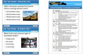 cdl answer sheet illinois cdl practice tests test answers cdltestgenius com