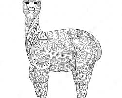 Baby Llama What Tizzy Sometimes Mamas Very Busy Coloring And