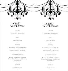 Event Menu Template Gorgeous Corporate Menu Template Lulusheshe