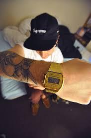 men s vintage gold casio watch my style vintage casio vintage gold retro watch