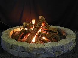 fake logs gas fireplace