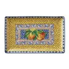 sicily rectangular platter large