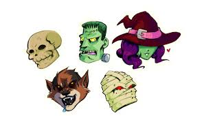Image result for monster heads