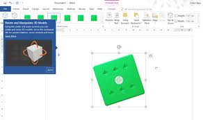 microsoft office presentations how to add 3d models to microsoft office documents and presentations