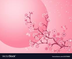 Cherry Blossom Background Beautiful Nature Scene