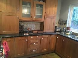 solid oak shaker kitchen cabinet doors chesterton b q cooke and lewis
