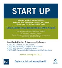 Bcit Alumni On Twitter Interested In Starting Your Own Business
