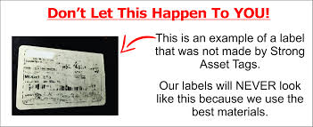 Fixed Asset Tags Get Strong Asset Tags