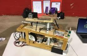 Mechanical Engineering Robots Mechanical Engineering Student Teams Competing In Robotics