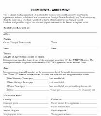 Room Rental Contract Unique Lease Agreement For Renting A Room In My House Charlotte Clergy