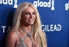 Britney Spears posts about locking ...