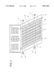 patent us6051811 heated mat assembly for a driveway google patents patent drawing