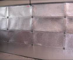low e garage door application is a great way to help insulate your garage and help cut down on those pesky drafts
