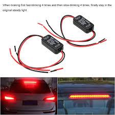 Brake Light Flasher For Car Udele Store 2 Pcs Gs 100a Flash Strobe Controller Brake