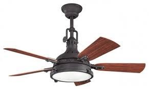 rustic modern ceiling fans. Modern Rustic Ceiling Fan 44 Hatteras Bay Patio Distressed Black Fans E