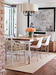 Rugs Under Kitchen Table How To Pick A Rug For Your Dining Room Designrulz