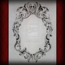 vintage frame tattoo designs. Best Photos Of Filigree Oval Frame - Vintage Mirror Frames . Tattoo Designs