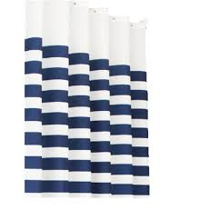 Navy And White Curtains Navy Blue Curtains Amazoncouk