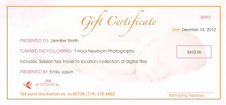 free photography gift certificate template new graphy gift certificate wording of free photography gift certificate template
