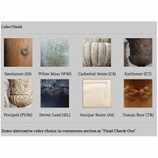 Cathedral Stone Color Chart Color Chart Capital Gardens Full