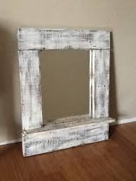 painted wood picture frames. Pallet Mirror Frame Painted Frames Wood Old And To Look Vintage Home Design 7 Picture S