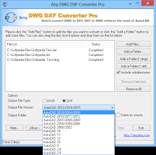 Convert Dwg To Dxf Download Any Dwg Dxf Converter Pro 2018