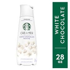 starbucks white chocolate mocha creamer