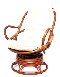 wicker seat cushions cushion for rattan chair java handmade design rattan wicker swivel rocking chair with wicker seat