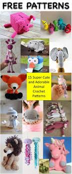 Crochet Animal Patterns Free Magnificent Decoration