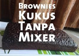 Kita buat kue brownies kukus 2 telur yuk? Resep Brownies Kukus Tanpa Mixer Oleh Prasetaokta Cookpad