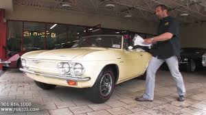 1965 Chevrolet Corvair Corsa Convertible for sale with test drive ...