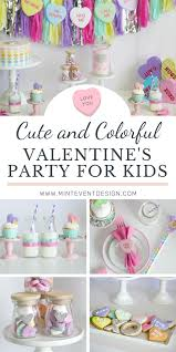 Throw a party your child will heart with our free valentine's day party ideas. Valentine S Day Soiree Mint Event Design