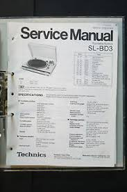 technics sl qd3 original turntable turntable service manual wiring image is loading technics sl qd3 original turntable turntable service manual