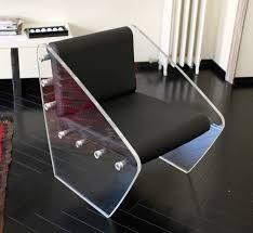 plexiglass furniture. Terry - Chair The Was Made With 20mm High Transparent Plexiglas Slabs And Aluminium Turned Plexiglass Furniture