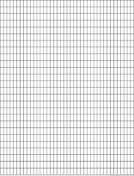 Line Graph Paper Printable Crochet Generator X Black 1 Print