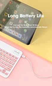 IPad Bàn Phím Ultra-Slim Bàn Phím Bluetooth Dành Cho IPad Air 3 4 7th 8th  Generation Pro 11 12.9 Dành Cho Máy Tính Bảng Xiaomi Samsung Android Windows  | Bàn Phím Văn Phòng