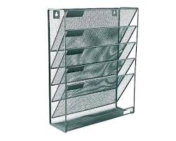 wire mesh wall pockets pocket wall file single wire mesh letter black 3 hanging mounted holder