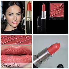 Light Coral Lipstick Mac Buy Mac Costa Chic Frost Lipstick Warm Coral Shade Online