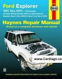 ford explorer mazda navajo haynes repair manual pdf ford explorer mazda navajo haynes repair manual