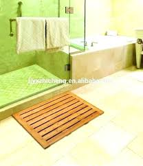 wood shower mat teak wood shower mat outdoor shower mat medium size of wooden mats for