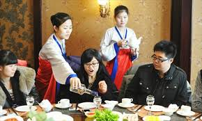 north korean restaurants face rocky