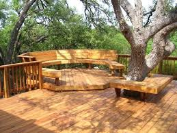 fire pit hexagonal wood deck with ideas on diy