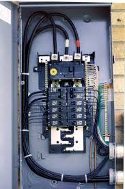 service panels and splice boxes aluminum wire repair, inc Electric Breaker Panel Box Wiring new 200 amp outdoor service panel with copalum splice box (mounted between the new panel and the meter housing) all the existing aluminum is removed from Wiring 30 Amp Breaker Box
