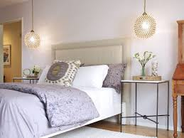 Image Wall Lights Marmont Pendants Over Nightstands Soriano Blanco Marmont Pendants Over Nightstands Transitional Bedroom
