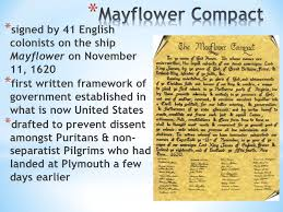 What is the date of the, mayflower, compact